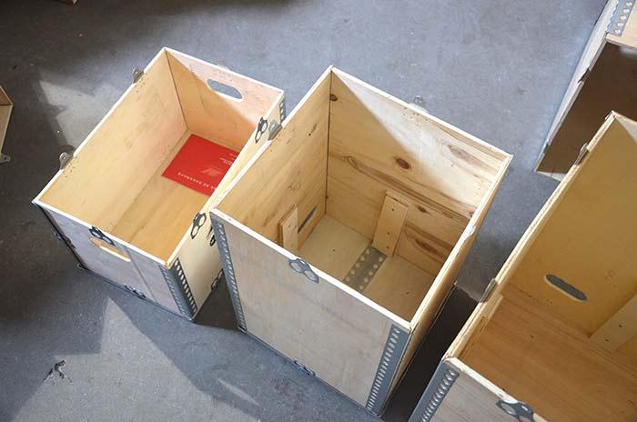 镀锌钢带木箱