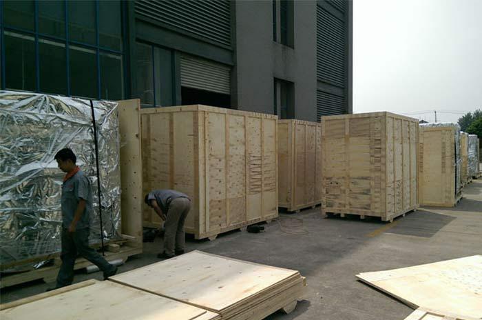 重型设备木箱包装