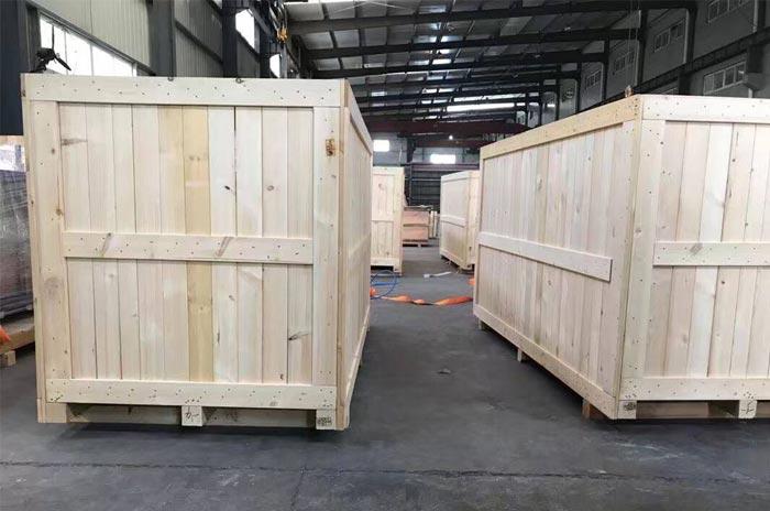 重型设备木箱真空包装