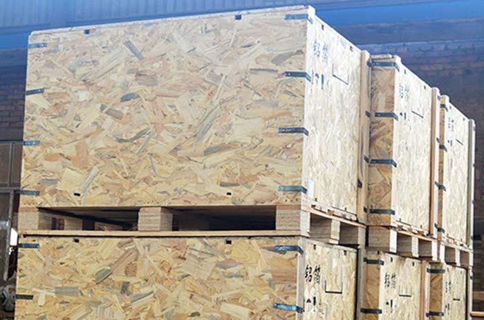 卡扣循环使用木箱