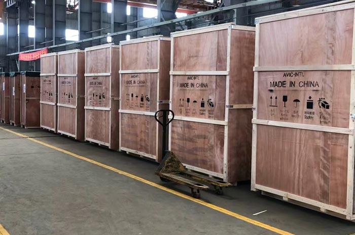 大型机械设备木箱包装