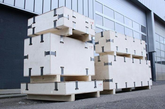 胶合板卡扣出口型包装木箱