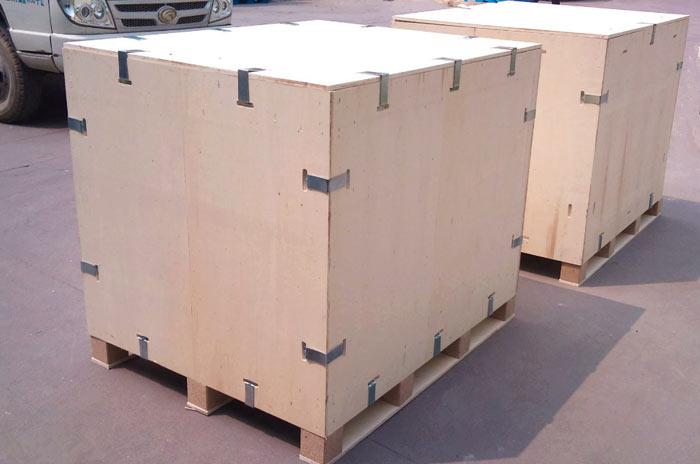 胶合板卡扣木箱