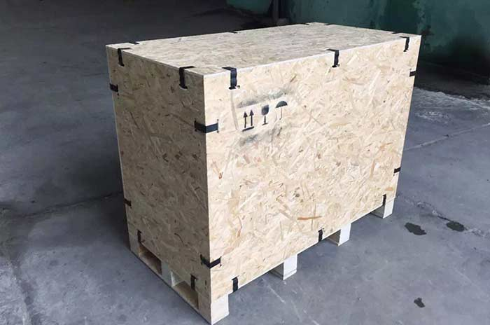 卡扣出口包装木箱