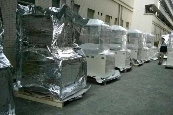 大型重型设备真空木箱包装