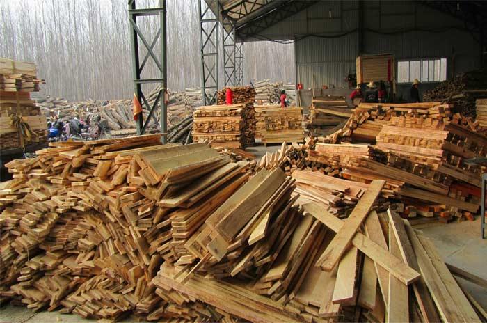 木箱原料生产区