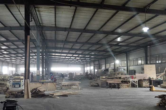 大型木箱生产车间