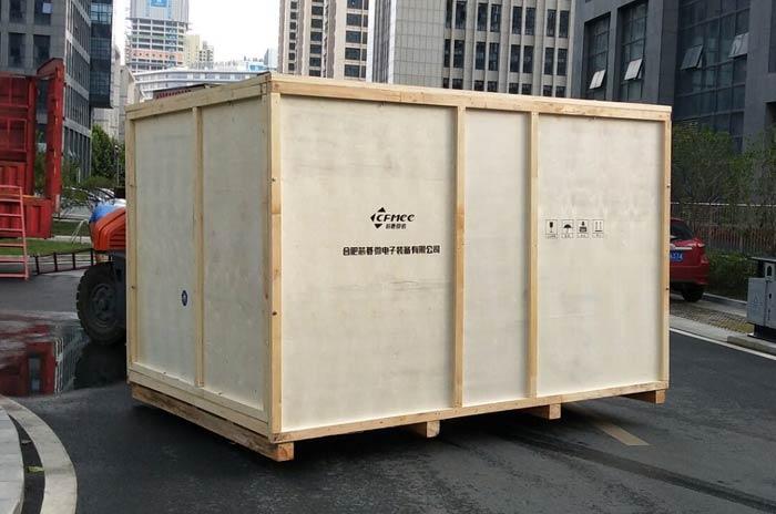 进出口大型木箱包装