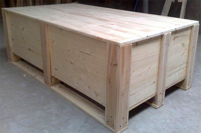 实木熏蒸木包装箱