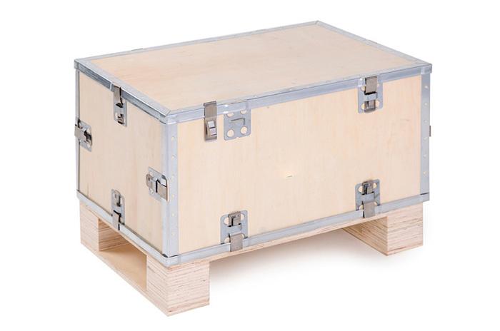 插片式钢边箱