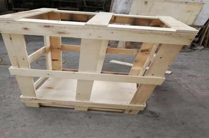 下脚料框架木箱