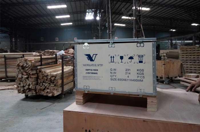 外贸出口钢带箱
